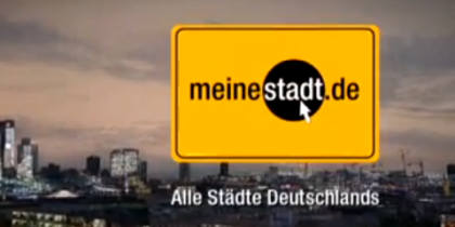 Meinestadt.de – ADC Bronze prämiertes Sounddesign